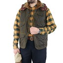 FREEWHEELERS フリーホイーラーズ FOREST RANGER 1920 - 1930s STYLE WOODSMAN SLEEVELESS COAT BRITISH MILLERAIN CO.LTD. TRADITIONA…