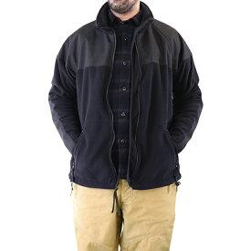 FREEWHEELERS フリーホイーラーズ THE BEYOND ULTIMA THULE EQUIPMENT ULTIMA THULE TACTICAL POLARTEC THERMOLIGHT FLEECE × CORDURA CLOTH BLACK