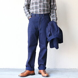 FREEWHEELERS フリーホイーラーズ GOLDEN SPIKE OVERALLS 1890s 〜 STYLE WORK CLOTHING INDIGO WABASH CLOTH