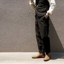 FREEWHEELERS フリーホイーラーズ JACKSON TROUSERS LATE 1800s TAILORED TROUSERS GREAT LAKES GMT.MFG.CO. YARN-DYED CHARCOAL BLACK