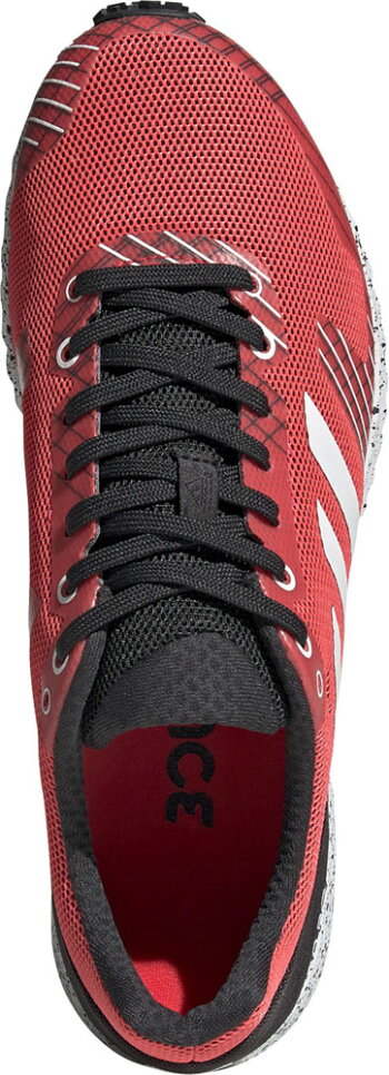adidas(アディダス)陸上トラックシューズadizeroRCB37394ショックREDS19/R