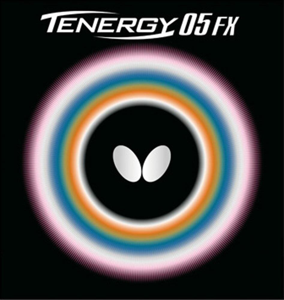 【ラッキーシール対象】バタフライ(Butterfly)卓球ガット・ラバーテナジー・05・FX(Tenergy05フレックス)05900ブラック