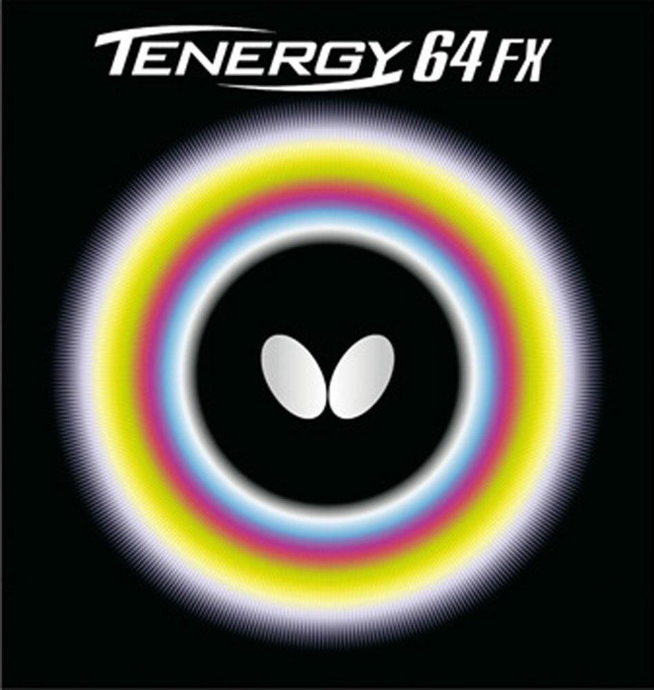 【ラッキーシール対象】バタフライ(Butterfly)卓球ガット・ラバー卓球用ラバー テナジー・64FX05920ブラック