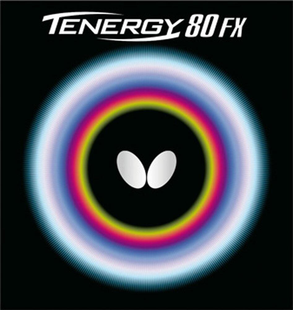 【ラッキーシール対象】バタフライ(Butterfly)卓球ガット・ラバー卓球用ラバー テナジー・80FX05940ブラック