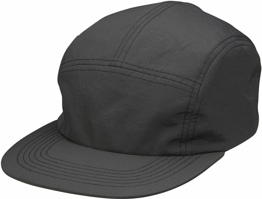 【ラッキーシール対象】UnitedAthle(ユナイテッドアスレ)カジュアル帽子ナイロン ジェットキャップ967201ブラック
