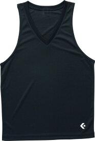 【ラッキーシール対象】CONVERSE(コンバース)バスケットアンダーシャツゲームインナーシャツ(タンクトップ)CB251703ブラック