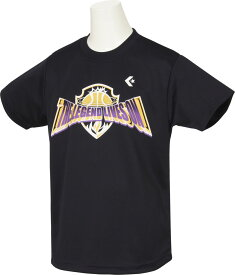 【ラッキーシール対象】CONVERSE(コンバース)バスケットTシャツJRプリントTシャツ ジュニア(ボーイズ) バスケットボールウェア ミニバスCB481303ネイビー