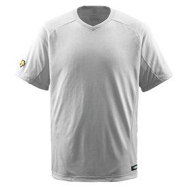 【ラッキーシール対象】デサント(DESCENTE)野球&ソフトTシャツV首TシャツDB202シルバー