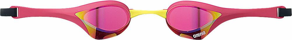 【3,000円OFF・5%OFFクーポン配布中】ARENA(アリーナ)水泳水球競技ゴーグル・サングラスくもり止めスイムグラス クッションタイプ(ミラー加工)AGL180MPKPM