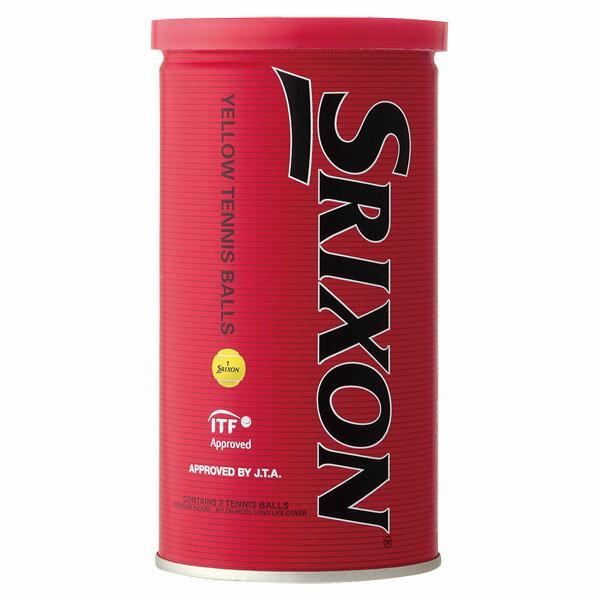 【ラッキーシール対象】SRIXON(スリクソン)テニスボールスリクソン プレッシャーライズドテニスボールSRXDYL2TIN