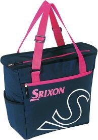 【ラッキーシール対象】SRIXON(スリクソン)テニスバッグトートバッグ(ラケット1本収納可)SPC2933ネイビ-