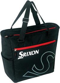【ラッキーシール対象】SRIXON(スリクソン)テニスバッグトートバッグ(ラケット1本収納可)SPC2933ブラツク