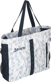 【ラッキーシール対象】SRIXON(スリクソン)テニスバッグトートバッグ(ラケット1本収納可)SPC2913ホワイト