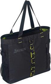 【ラッキーシール対象】SRIXON(スリクソン)テニスバッグトートバッグ(ラケット1本収納可)SPC2913ブラツク