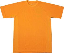 ファイテン(PHITEN)ボディケアRAKUシャツ SPORTS 吸汗速乾 半袖 オレンジ MJF899504