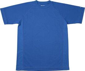 ファイテン(PHITEN)ボディケアRAKUシャツ SPORTS 吸汗速乾 半袖 ロイヤルブルー SJG159103