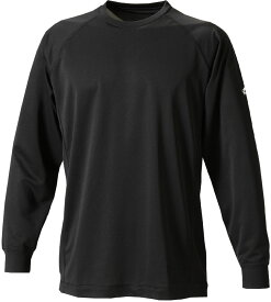 ファイテン(PHITEN)ボディケアRAKUシャツSPORTS(吸汗速乾)長袖ブラックLJF900105
