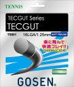 GOSEN(ゴーセン)テニスガット・ラバーテックガット 16L ホワイトTS601WH