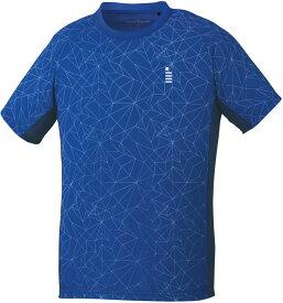 【ラッキーシール対象】GOSEN(ゴーセン)テニスゲームシャツ・パンツユニセックス ゲームシャツT1904ロイヤルブルー