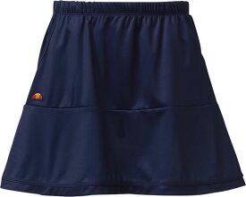 【ラッキーシール対象】Ellesse(エレッセ)テニスゲームシャツ・パンツチームスカートETS2810Lネイビー