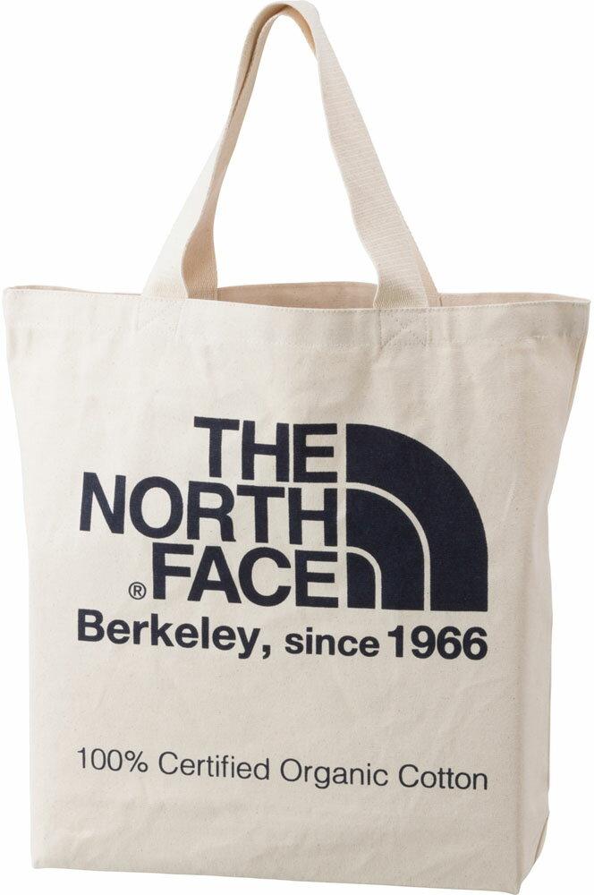 【ラッキーシール対象】THE NORTH FACE(ノースフェイス)アウトドアバッグTNF ORGANIC COTTON TOTE [TNFオーガニックコットントート] NM81616NM81616エステートB