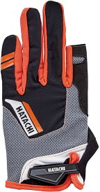 【ラッキーシール対象】HATACHI(ハタチ)ウエルネス手袋ダブルフィンガーカットグローブWH8130オレンジ