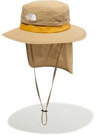 【19日20時から20日限定 P最大10倍】THE NORTH FACE ノースフェイスアウトドアキッズ TNF ビーフリー シールドハット Kids' TNF Be Free Shield Hat ハット 子供用 帽子 つば付き 熱中症対策 日よけ キャンプ NNJ02105UB