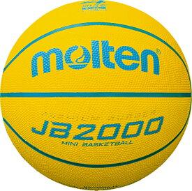 【19日20時から20日限定 P最大10倍】モルテン(Molten)サッカー【小学生低学年用ミニバスケットボール4号球】 JB2000軽量ソフトB4C2000LY
