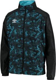 UMBRO(アンブロ)サッカーTRラインドジャケット ウインドブレーカーシャツ 裏起毛 男女兼用 ユニセックスUUUOJF47ZTBKTQ
