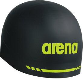 【9日20時から10日P最大10倍】ARENA(アリーナ)水泳水球競技シリコンキャップ(AQUAFORCE 3D SOFT) ARN−9400ARN9400BLK