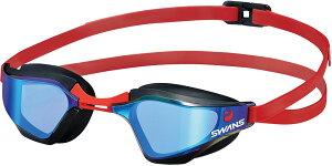 SWANS(スワンズ)水泳水球競技スイムゴーグル レーシング ミラーレンズ _SR72MPAFSR72MPAFSMBL