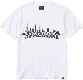 SPALDING(スポルディング)バスケットTシャツ トーキョー シティスケープ 男女兼用 ユニセックスSMT2003502000