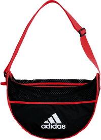 【18日限定P最大10倍】adidas(アディダス)サッカーボールバッグ 1個入れ レッド×ブラックAKM32R
