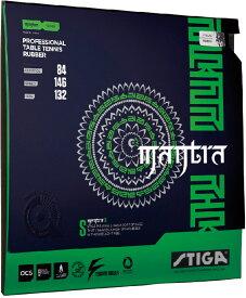 【25日限定P最大10倍】STIGA(スティガ)卓球テンション系裏ソフトラバー MANTRA S(マントラ S)レッド 中厚1708150517