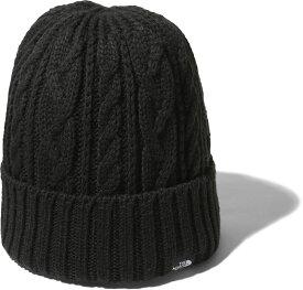 THE NORTH FACE(ノースフェイス)アウトドアケーブルビーニー(ユニセックス) Cable Beanie ニット帽 帽子 防寒 保温 抗菌 防臭 通勤 通学 旅行 トラベル メンズ レディースNN42036K【防寒アイテム】