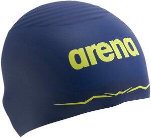 ARENA(アリーナ)水泳水球競技シリコンキャップ(AQUAFORCE WAVE CAP SOFT) ARN−0400JARN0400JNVY
