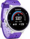 GARMIN(ガーミン)アウトドアランニングGPS ForeAthlete230J Purple×Strike フォアアスリート230J パープル×ス…