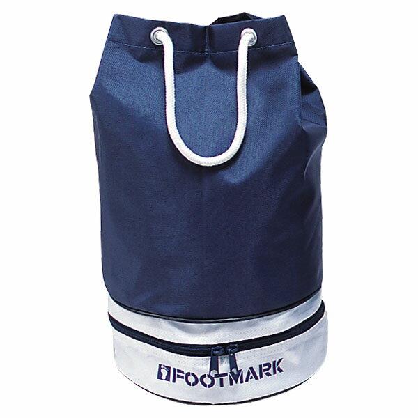 【ラッキーシール対象】FOOTMARK(フットマーク)水泳水球競技バッグスイムバッグ ニューツイン101333ネイビー