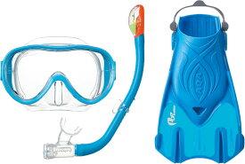 AQA(アクア)マリン水中スノーケリング3点セット シリコンMKZ9210