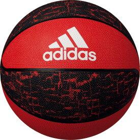 adidas(アディダス)バスケットバスケットボール シャドースクワッド 7号球 レッド×ブラックAB7123R