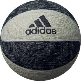 adidas(アディダス)バスケットバスケットボール シャドースクワッド 7号球 グレイ×ネイビーAB7125NV