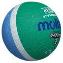 【ラッキーシール対象】 モルテン(Molten)ハンドドッチボールライトドッジボール軽量2号 緑×サックスSLD2MSK