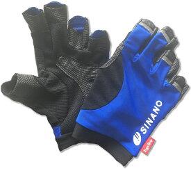 【ラッキーシール対象】SINANO(シナノ)ウエルネス手袋レビータ グローブ M ブルー125544
