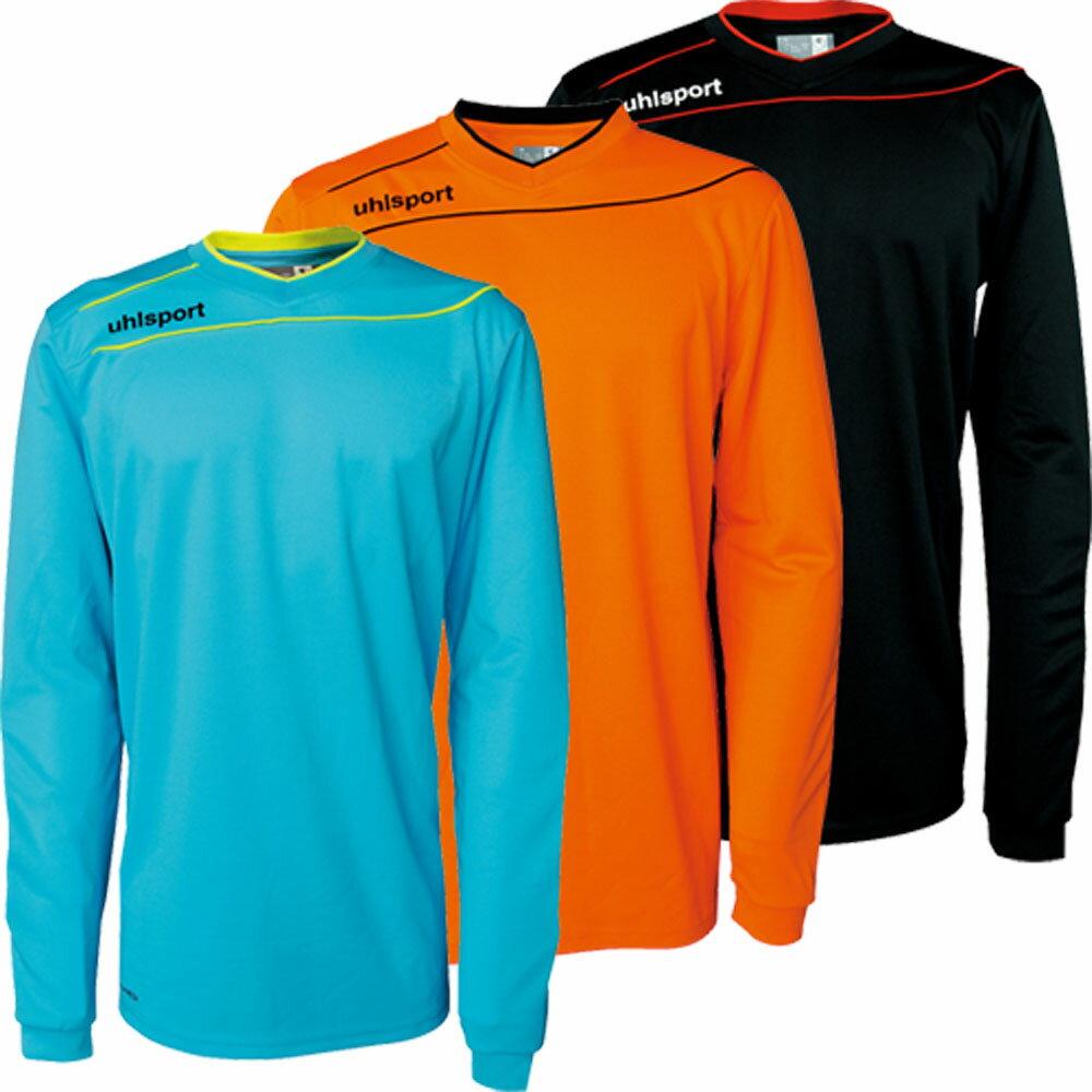 【ラッキーシール対象】 uhlsport(ウールシュポルト)サッカーゲームシャツ・パンツストリーム3.01005702BLK/WHT/RED