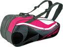 Yonex(ヨネックス)テニスバッグラケットバッグ6 リュック付き(ラケット6本用)BAG1722Rブラック/ピンク