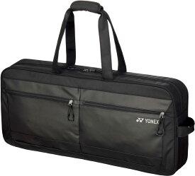 【ラッキーシール対象】Yonex(ヨネックス)テニスバッグ(ラケットバッグ) トートバッグワイド(テニス2本用)BAG1851Wブラック