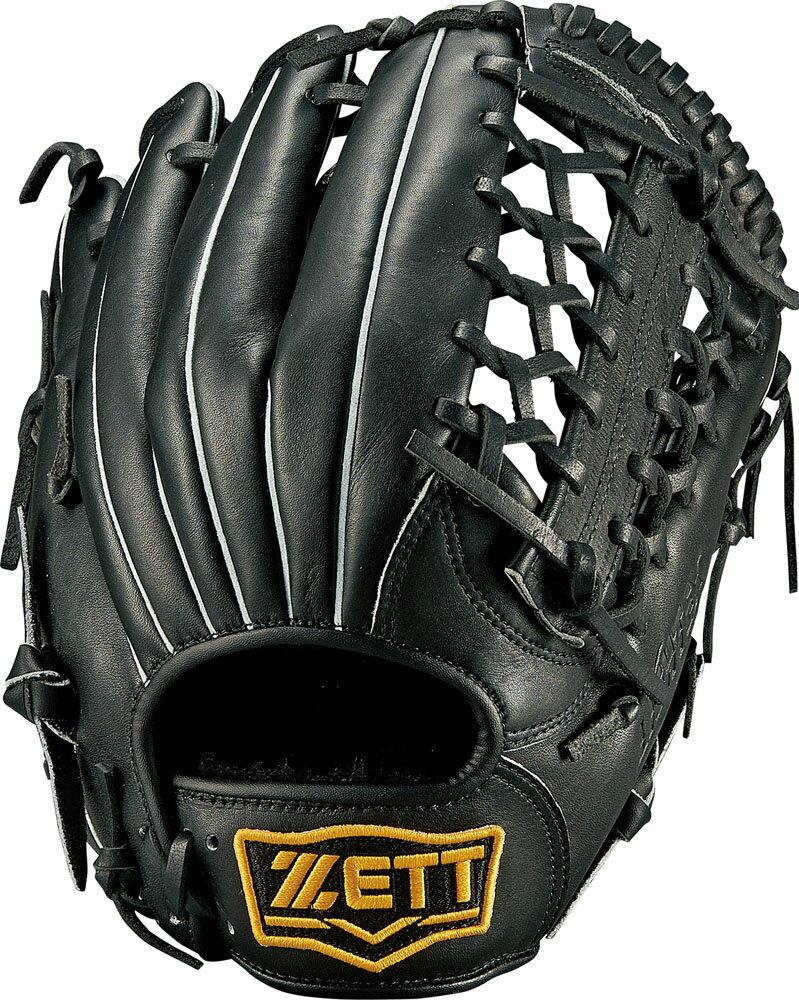 ZETT(ゼット)野球&ソフト野球グラブ【ソフトボール用 グラブ(グローブ)】 ライテックス オールラウンド用BSGB3810ブラック