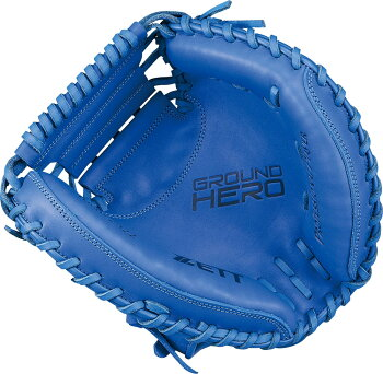 ZETT(ゼット)野球&ソフト野球グラブ野球少年軟式キャッチミットグランドヒーローBJCB72922ロイヤルブルー