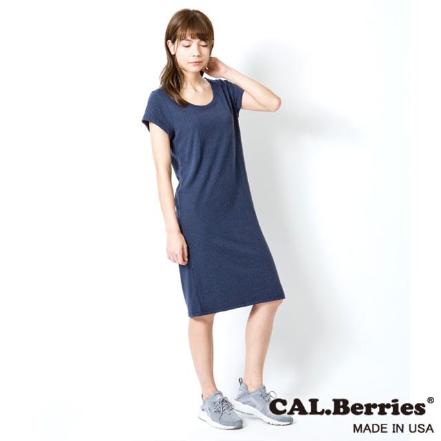【カルベリーズ レディース】CAL.Berries カルベリーズ OCEAN SIDE DRESS (35tj004) レディース 無地