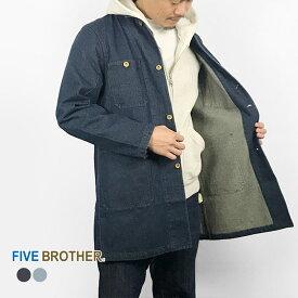 [19SS新作]FIVE BROTHER ファイブブラザー メンズアウター メンズコート デニムコート デニムエンジニアコート・151910D アウター デニム メンズ MEN'S 長袖